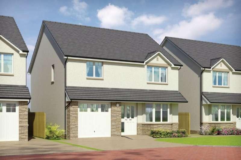 4 Bedrooms Detached House for sale in Oakley Road, Saline, Dunfermline, KY12