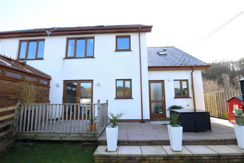 5 Bedrooms Semi Detached House for sale in Llanilar, Aberystwyth