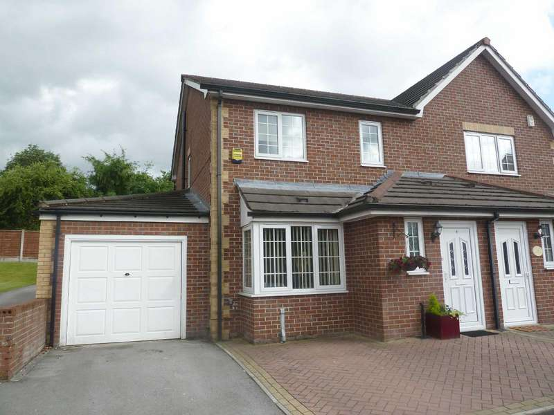 5 Bedrooms Semi Detached House for sale in Aspinall Gardens, Middleton, Manchester, M24
