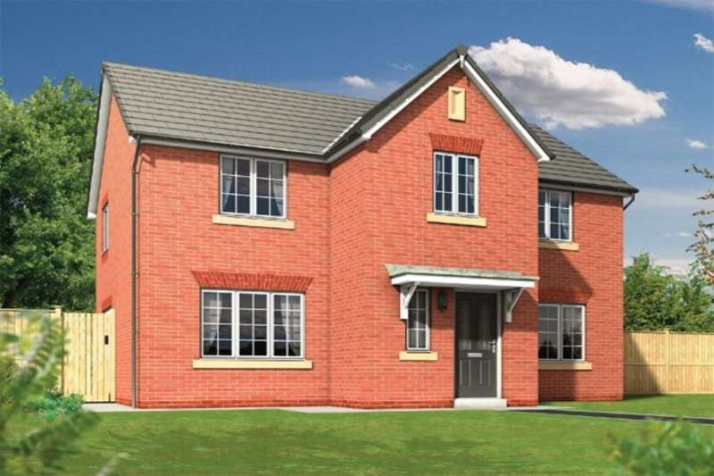 4 Bedrooms Detached House for sale in The Haversham Gib Lane, Blackburn, BB2