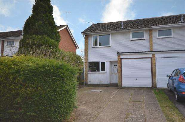 3 Bedrooms End Of Terrace House for sale in Cullen Close, Yateley, Hampshire