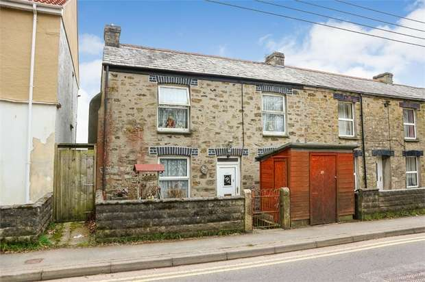 4 Bedrooms End Of Terrace House for sale in Church Street, St Blazey, Par, Cornwall