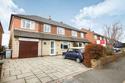 5 Bedrooms Semi Detached House for sale in Barnfield Road, Bollington, Macclesfield, Cheshire