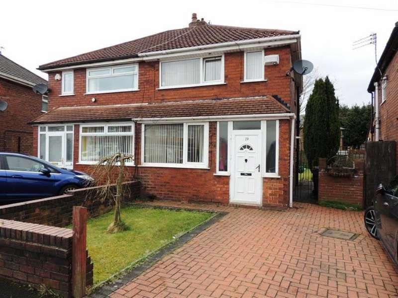 2 Bedrooms Semi Detached House for sale in Thorn Hill Road, Droylsden, Droylsden Manchester