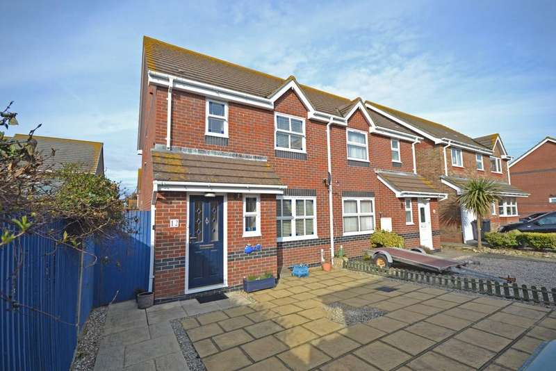 3 Bedrooms Semi Detached House for sale in Canadian Crescent, Selsey, PO20