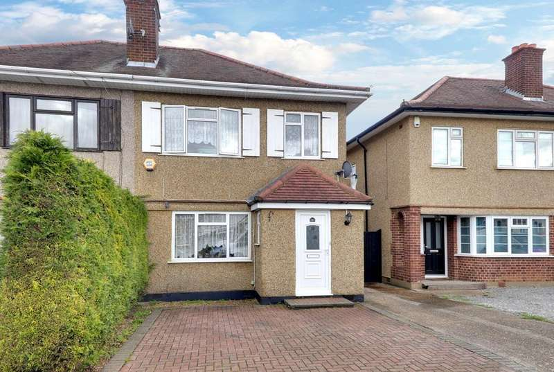 3 Bedrooms Semi Detached House for sale in Lansbury Drive, Hayes UB4