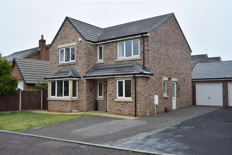 4 Bedrooms Detached House for sale in Daisy Fold, Chorley