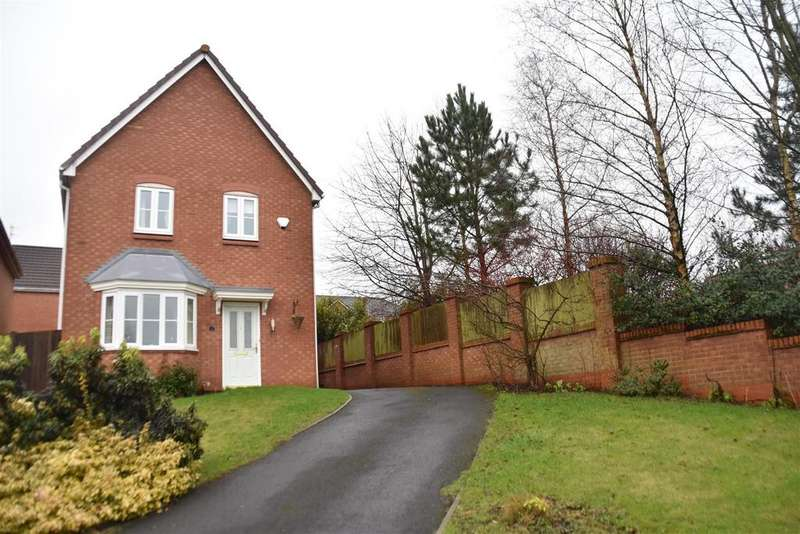 3 Bedrooms Detached House for sale in Redwing Drive, Chorley