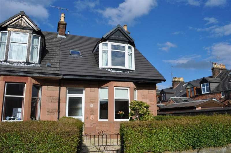 3 Bedrooms End Of Terrace House for sale in 51 Cromarty Avenue, Newlands, G43 2HG