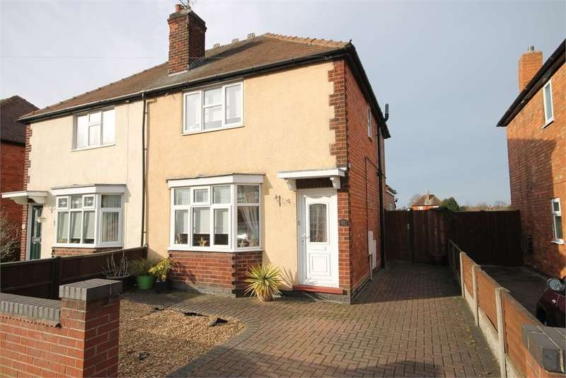 3 Bedrooms Semi Detached House for sale in Marton Road, Newark, Nottinghamshire. NG24 1SL