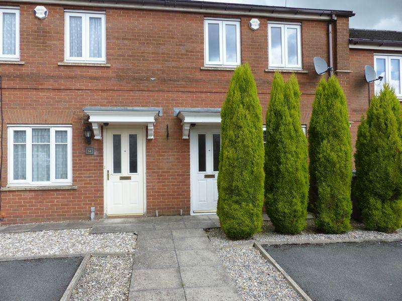 2 Bedrooms Terraced House for sale in Clubhouse Close, Shaw