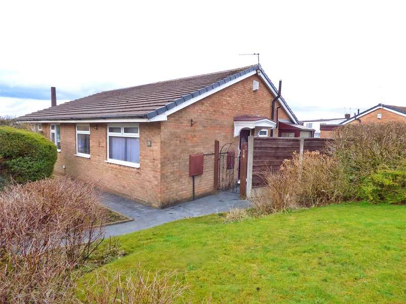 2 Bedrooms Semi Detached Bungalow for sale in Penryn Avenue, Royton, Oldham, Greater Manchester, OL2