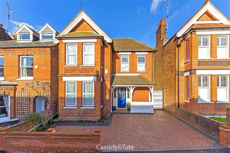 3 Bedrooms Property for sale in Worley Road, St Albans, Hertfordshire
