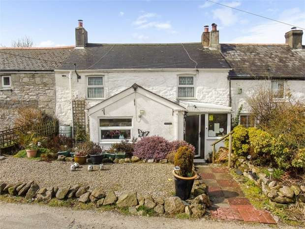 4 Bedrooms Terraced House for sale in Trelavour Downs, St Dennis, St Austell, Cornwall