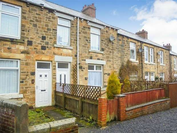 3 Bedrooms Terraced House for sale in Johnson Terrace, Stanley, Durham