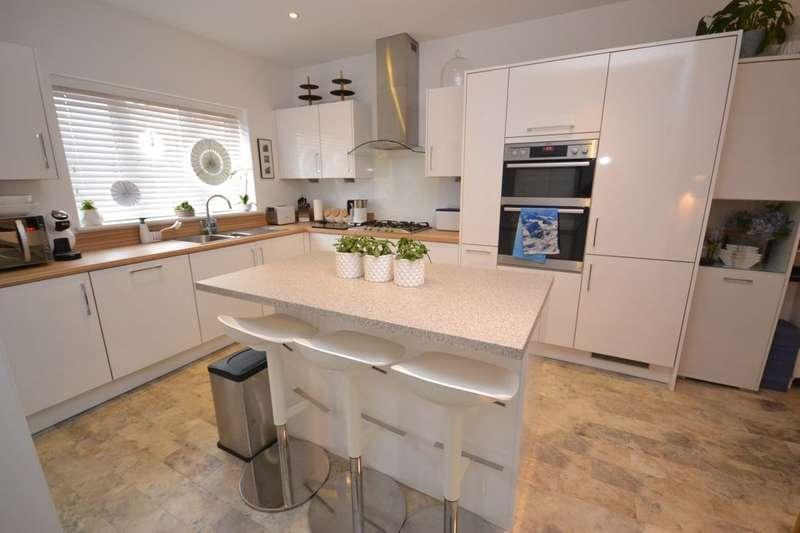 4 Bedrooms Detached House for sale in Ellis Way, Abington Vale, Northampton, NN3