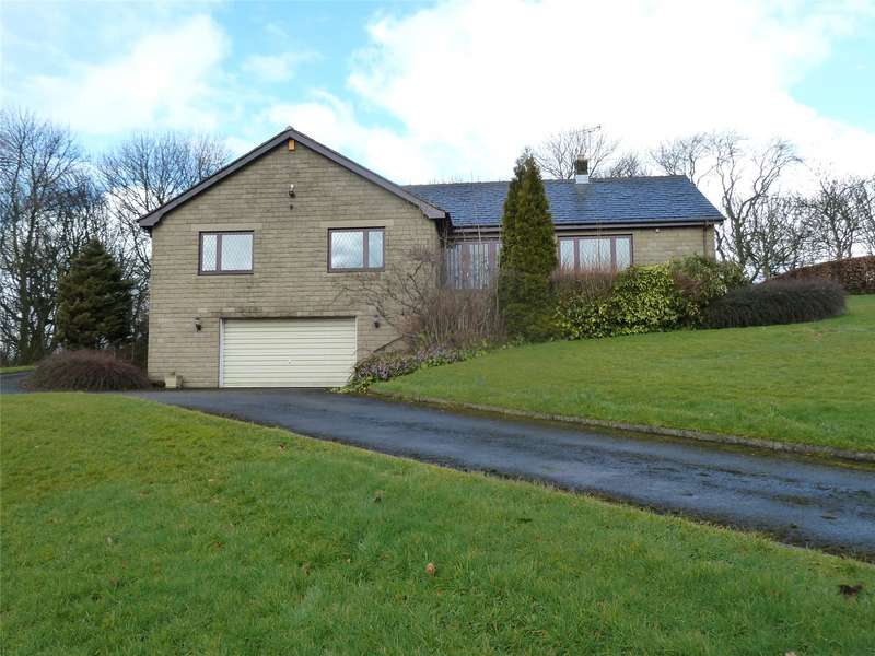 3 Bedrooms Detached Bungalow for sale in Higher Lydgate Park, Grasscroft, Saddleworth, OL4