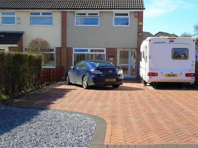 3 Bedrooms Semi Detached House for sale in Rhodfa'r Wennol, Cwmrhydyceirw