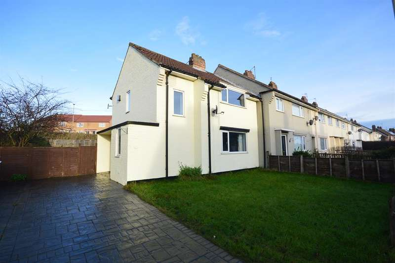 2 Bedrooms End Of Terrace House for sale in Westway, Eastfield, Scarborough, YO11 3ED
