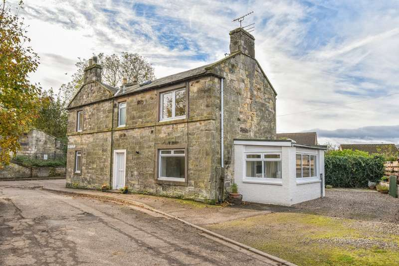 3 Bedrooms Semi Detached House for sale in Old Station House, 1 Bankton Park, Kingskettle, Cupar, Fife, KY15