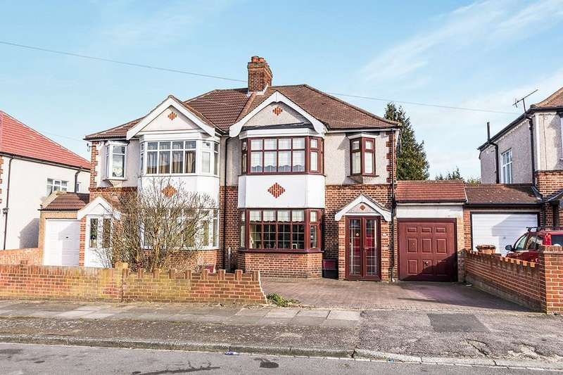 3 Bedrooms Semi Detached House for sale in Wellington Road, Bexley, DA5
