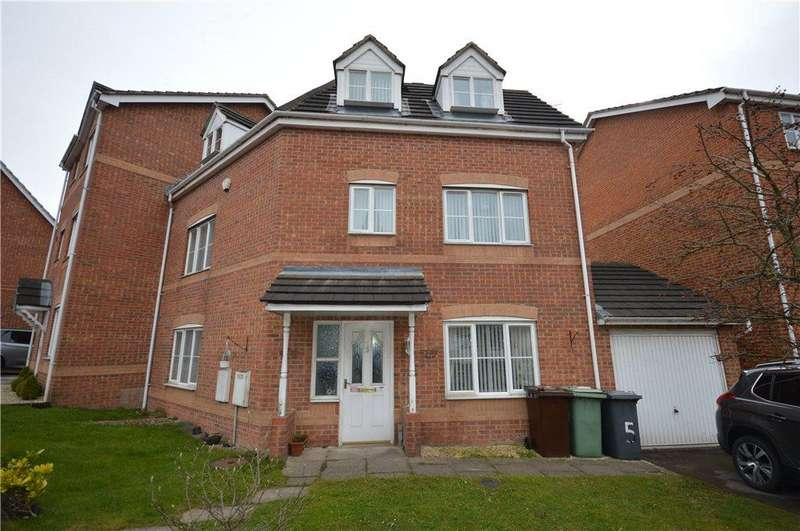 4 Bedrooms Semi Detached House for sale in Redbarn Close, Leeds, West Yorkshire