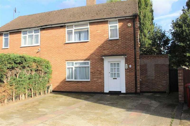 3 Bedrooms Semi Detached House for sale in Hawthorne Crescent, Slough, Berkshire