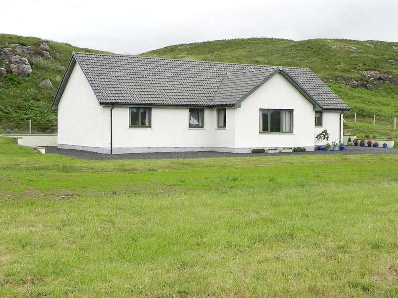 4 Bedrooms Detached Bungalow for sale in Arnival, 23 Portnalong, Isle of Skye, IV47 8SL