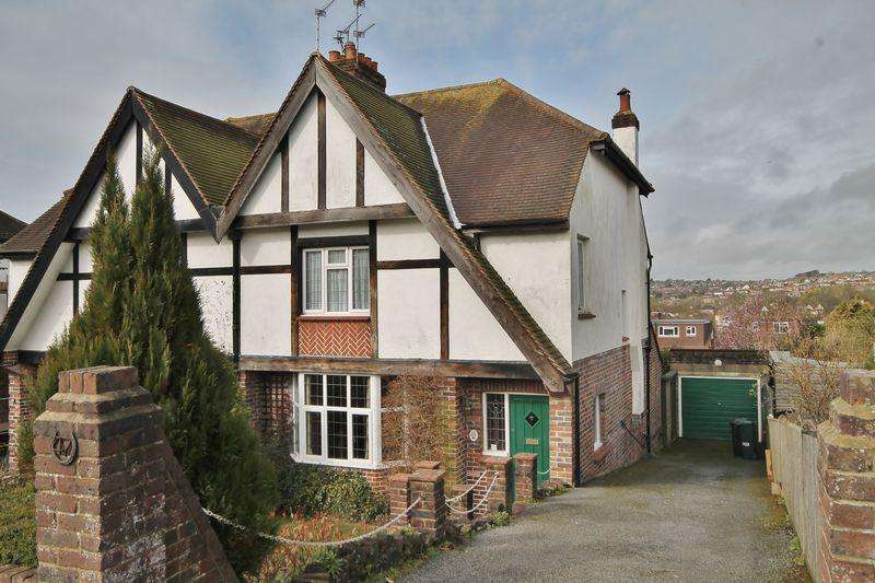 3 Bedrooms Semi Detached House for sale in Braybon Avenue, Patcham, Brighton,