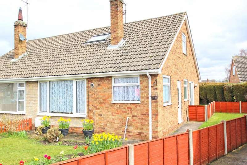 3 Bedrooms Semi Detached Bungalow for sale in Greenacre Park, Gilberdyke, HU15