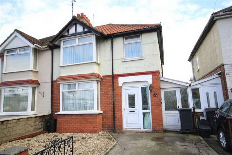 3 Bedrooms Semi Detached House for sale in Drove Road, Old Town, Swindon