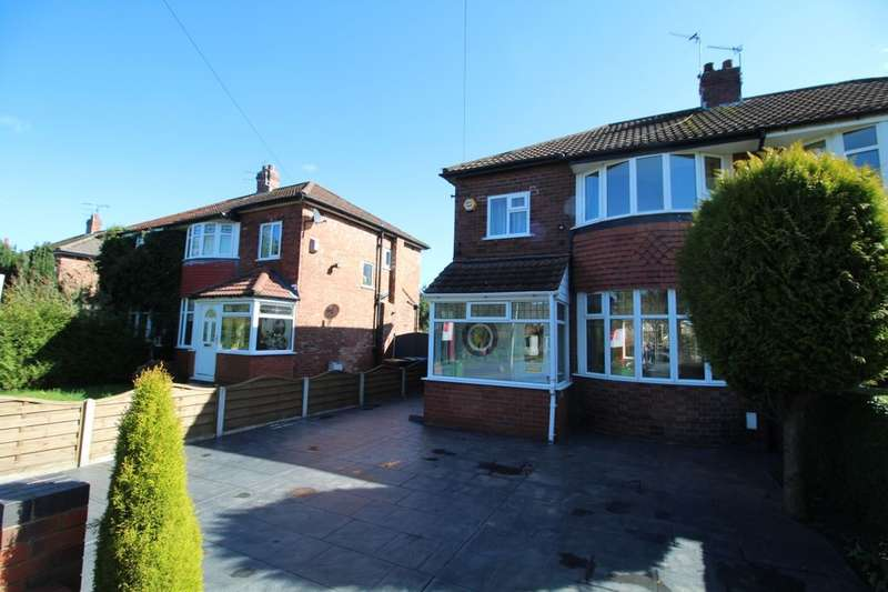 3 Bedrooms Semi Detached House for sale in Demmings Road, Cheadle, SK8