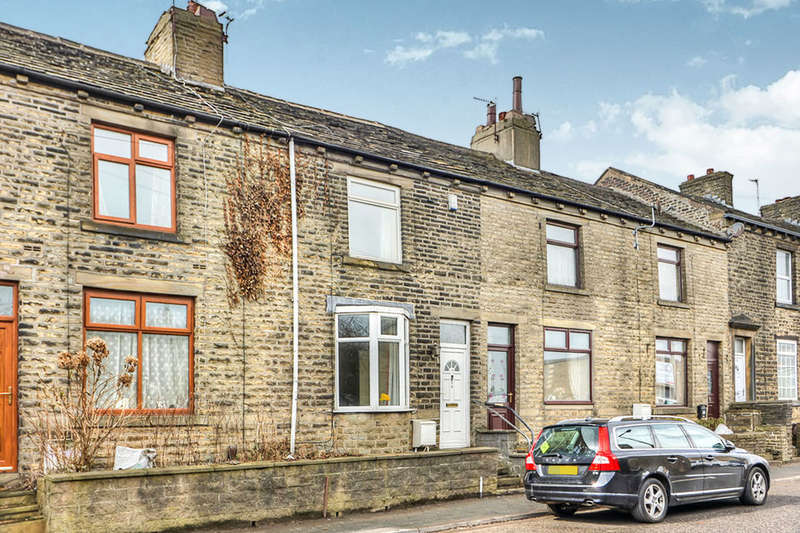 2 Bedrooms Terraced House for sale in Bank Top, Southowram, Halifax, HX3