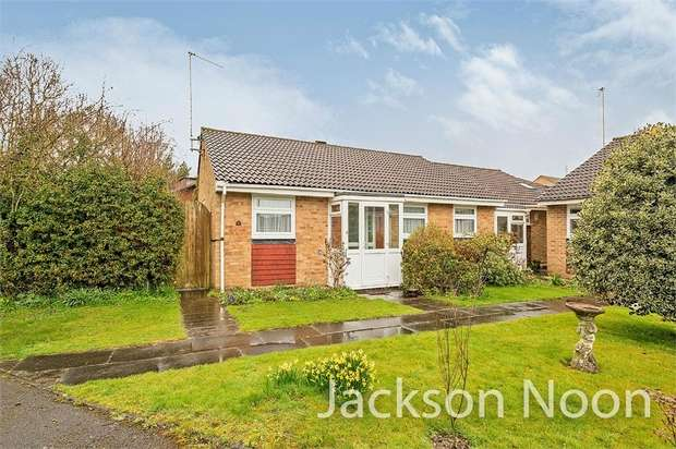 3 Bedrooms Semi Detached Bungalow for sale in Royal Drive, Epsom Downs