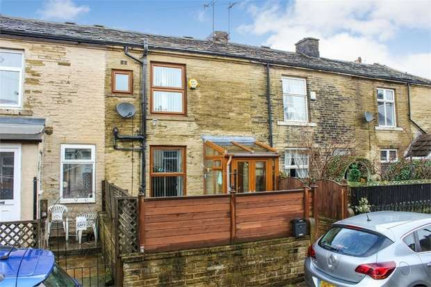 2 Bedrooms Terraced House for sale in Wellington Street, Queensbury, Bradford, West Yorkshire
