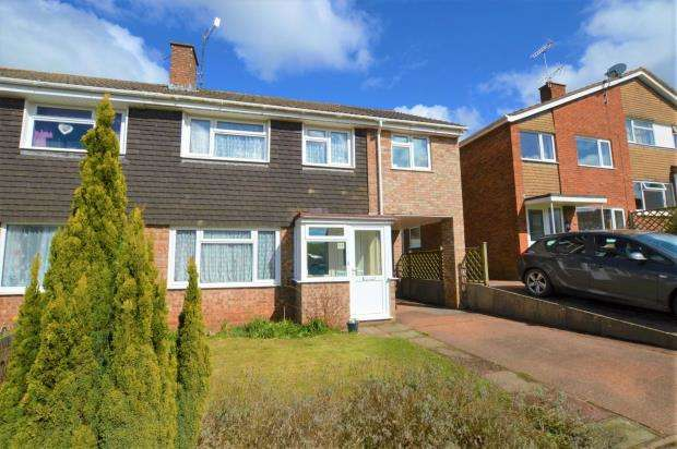 5 Bedrooms Semi Detached House for sale in Tuckers Meadow, Crediton, Devon