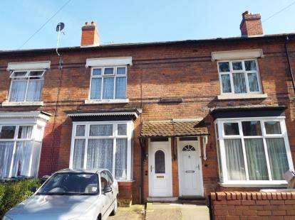 3 Bedrooms Terraced House for sale in Wilton Road, Handsworth, Birmigham, West Midlands
