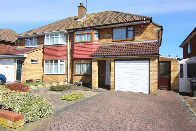 3 Bedrooms Semi Detached House for sale in Ravenbank Road, Luton, Bedfordshire, LU2 8EJ