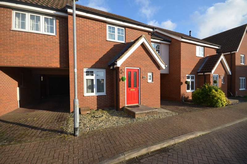 3 Bedrooms Link Detached House for sale in Mountbatten Drive, Norwich