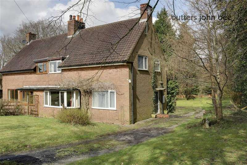 3 Bedrooms Semi Detached House for sale in Winghouse Lane, Tittensor, Stoke-on-Trent