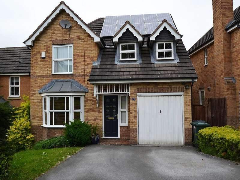 4 Bedrooms Detached House for sale in Rushcroft, Cote Farm, Thackley,
