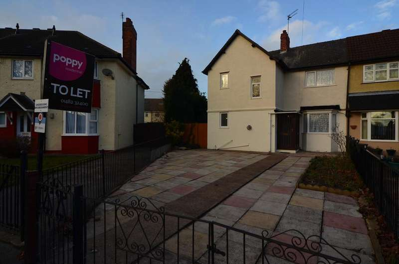 3 Bedrooms Semi Detached House for rent in 44 Willerby Road, West Hull