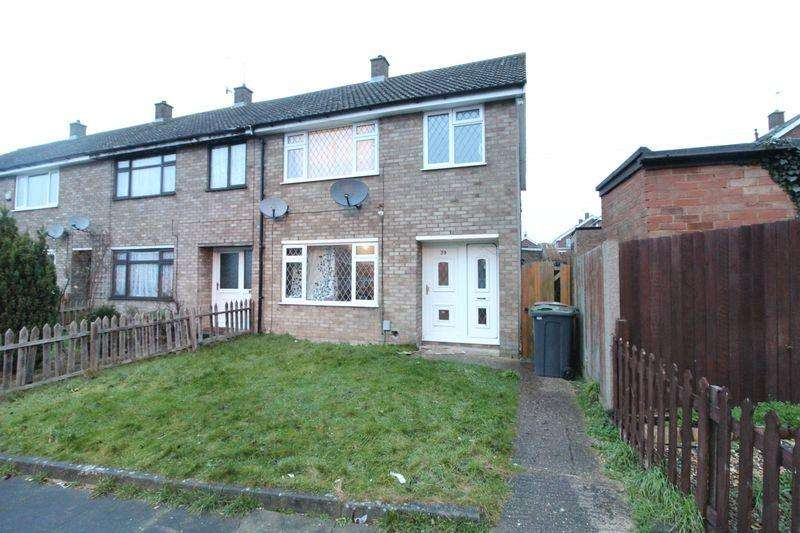 3 Bedrooms End Of Terrace House for sale in Three bedroom family home in Paddock Close