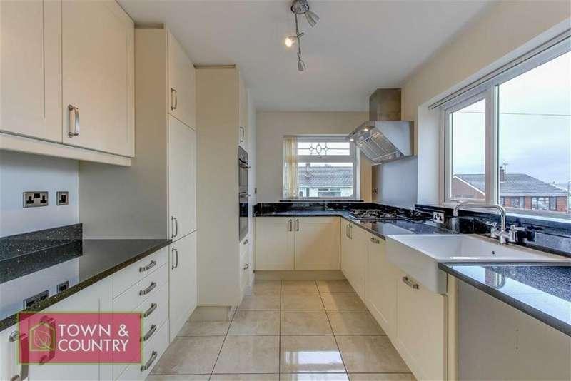 2 Bedrooms Semi Detached Bungalow for sale in Cadnant Drive, Bagillt, Bagillt, Flintshire