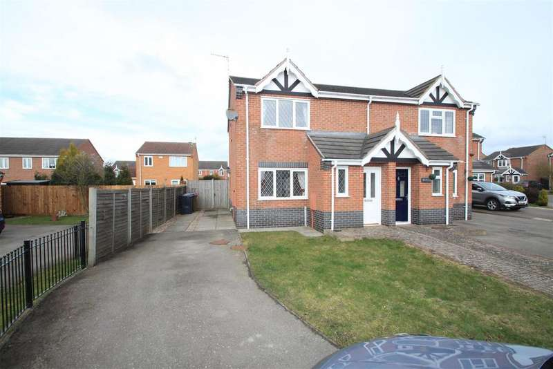 3 Bedrooms Semi Detached House for rent in Hadrian Close, Hinckley