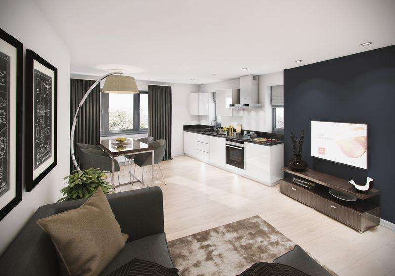 2 Bedrooms Flat for sale in Napier Court, Luxury New Build Flats, Luton Town Centre