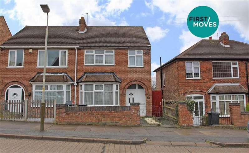 3 Bedrooms Semi Detached House for sale in Milverton Avenue, Leicester