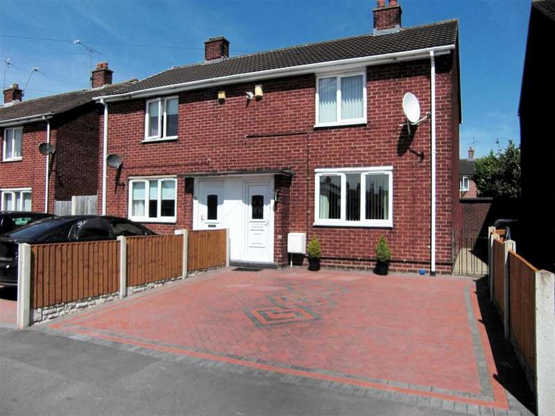 2 Bedrooms Semi Detached House for sale in Rose Grove, Wrexham