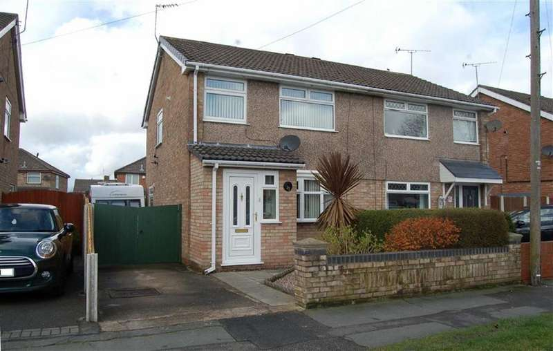 3 Bedrooms Semi Detached House for sale in Summertrees Road, Great Sutton, Ellesmere Port