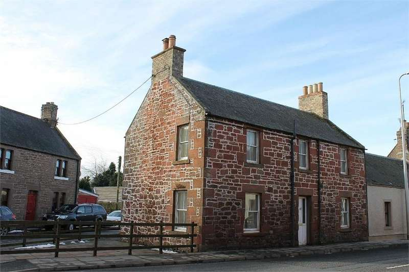 2 Bedrooms End Of Terrace House for sale in 15 West High Street, Greenlaw, DUNS, Scottish Borders
